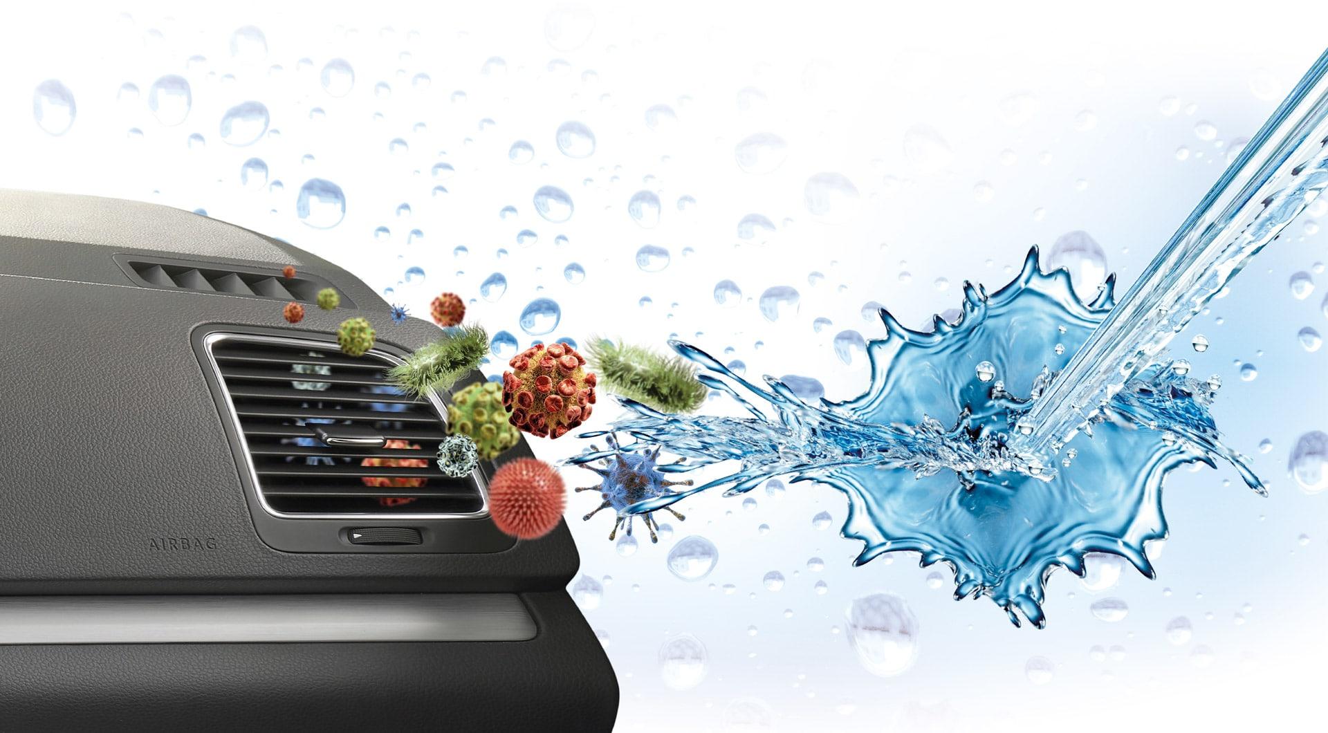 Klimaanlage Bakterien Splash