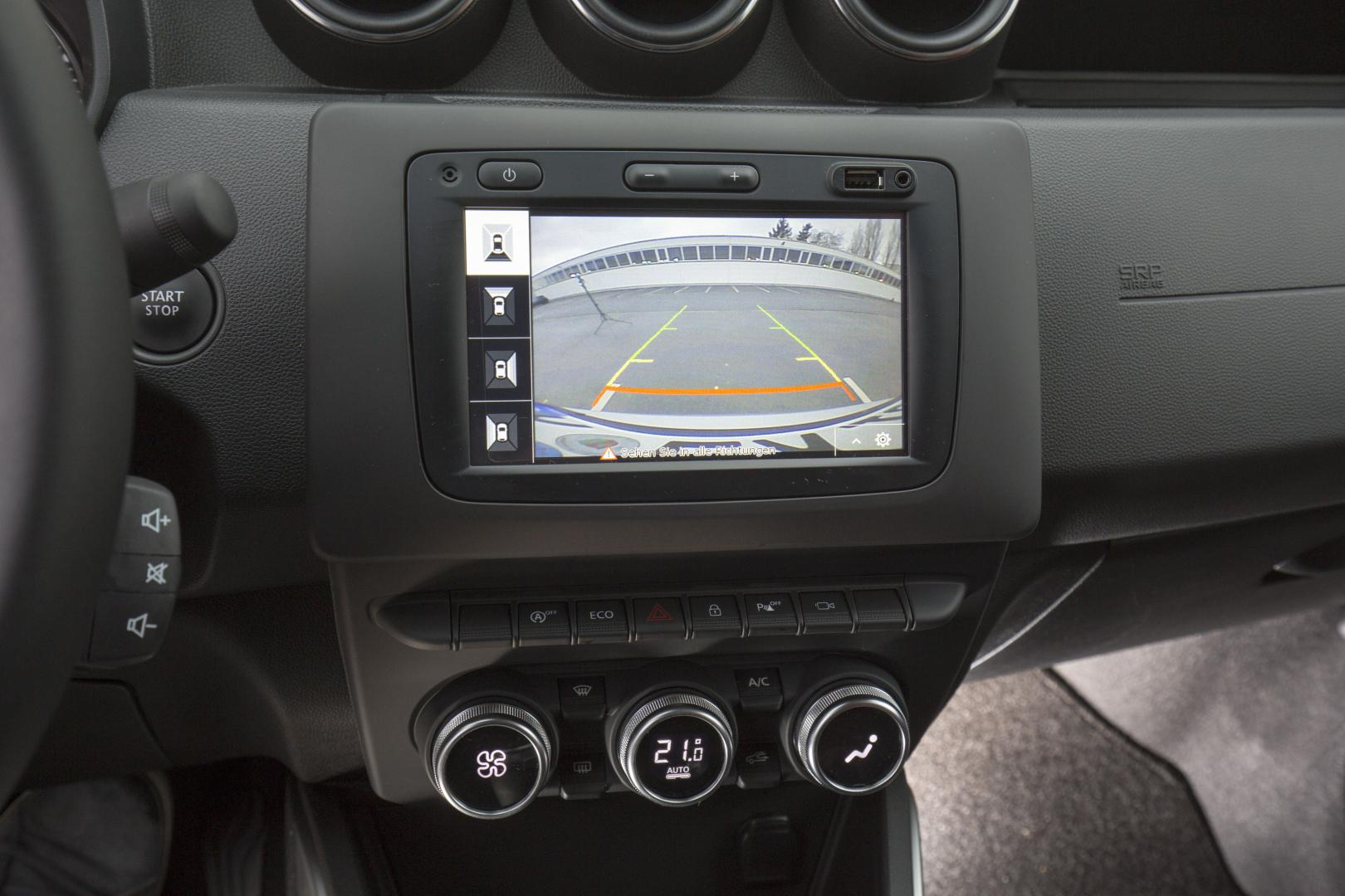 Multiview-Kamera des Dacia DUSTER Autohaus Schouren