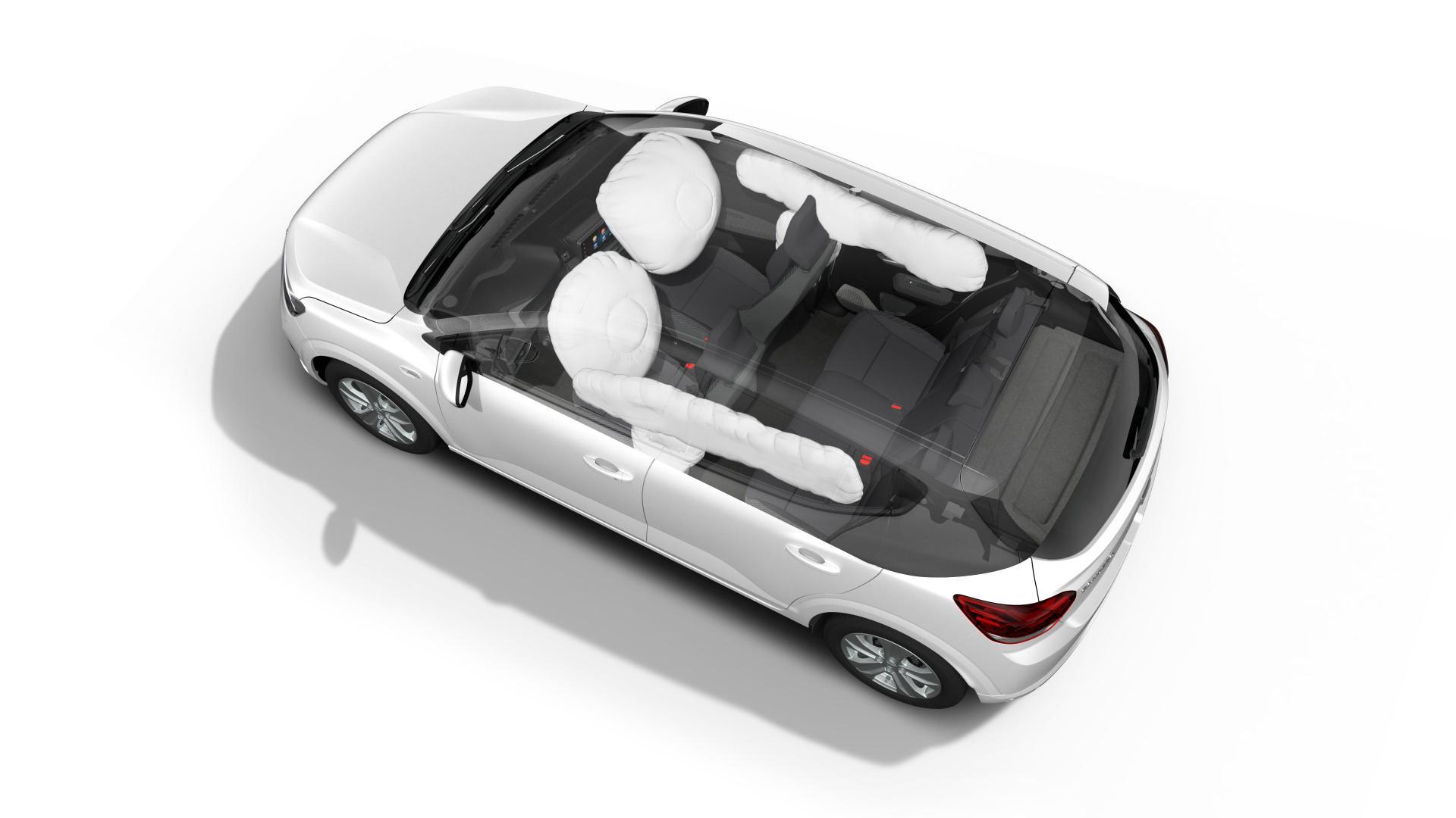 Sechs Airbags im Dacia SANDERO Autohaus Schouren