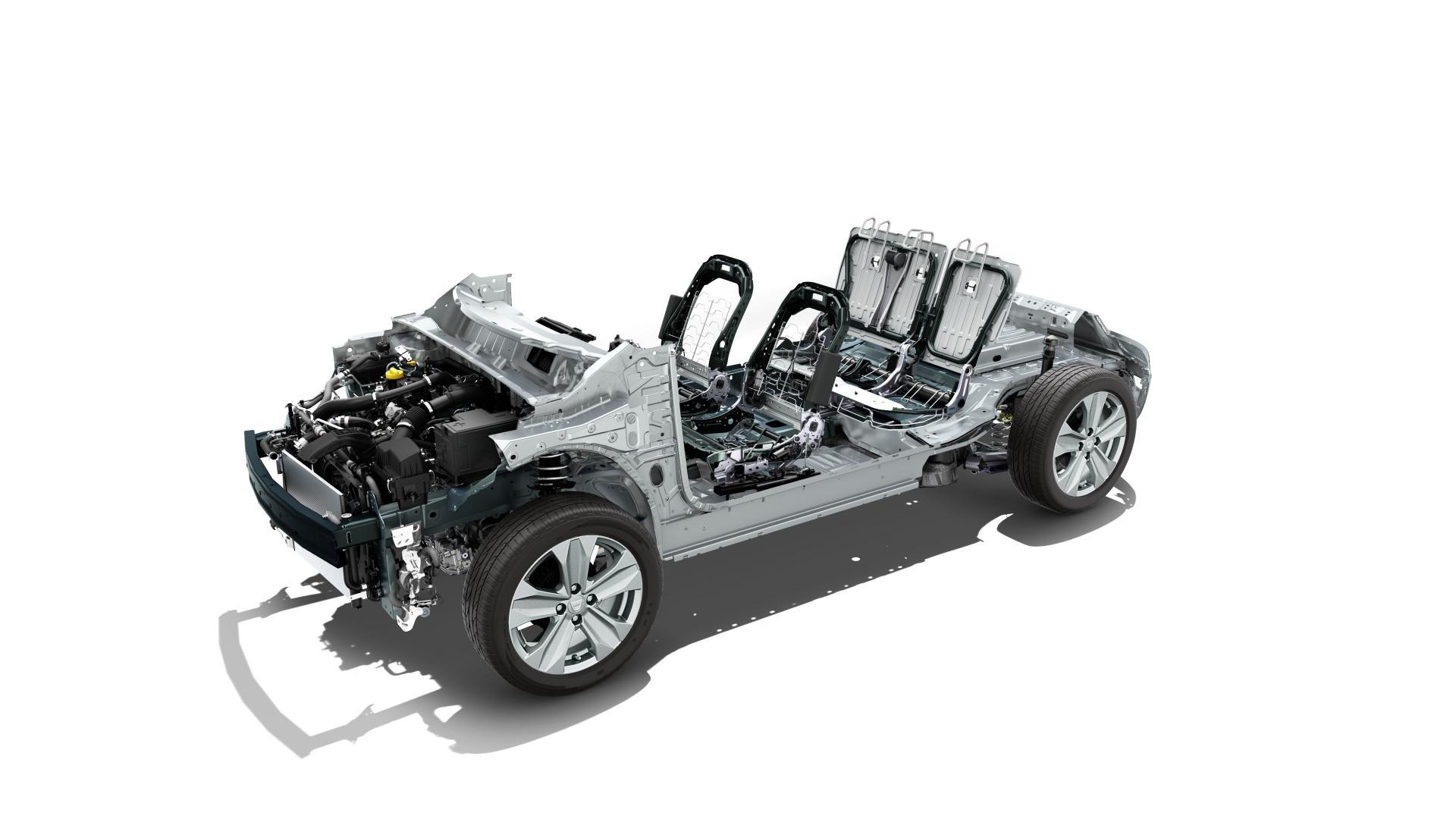 Die modulare CMF-Plattform des Dacia SANDERO Autohaus Schouren