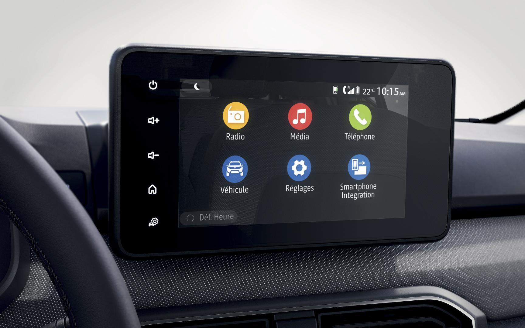 Das Dacia Media Control System des Dacia SANDERO Autohaus Schouren