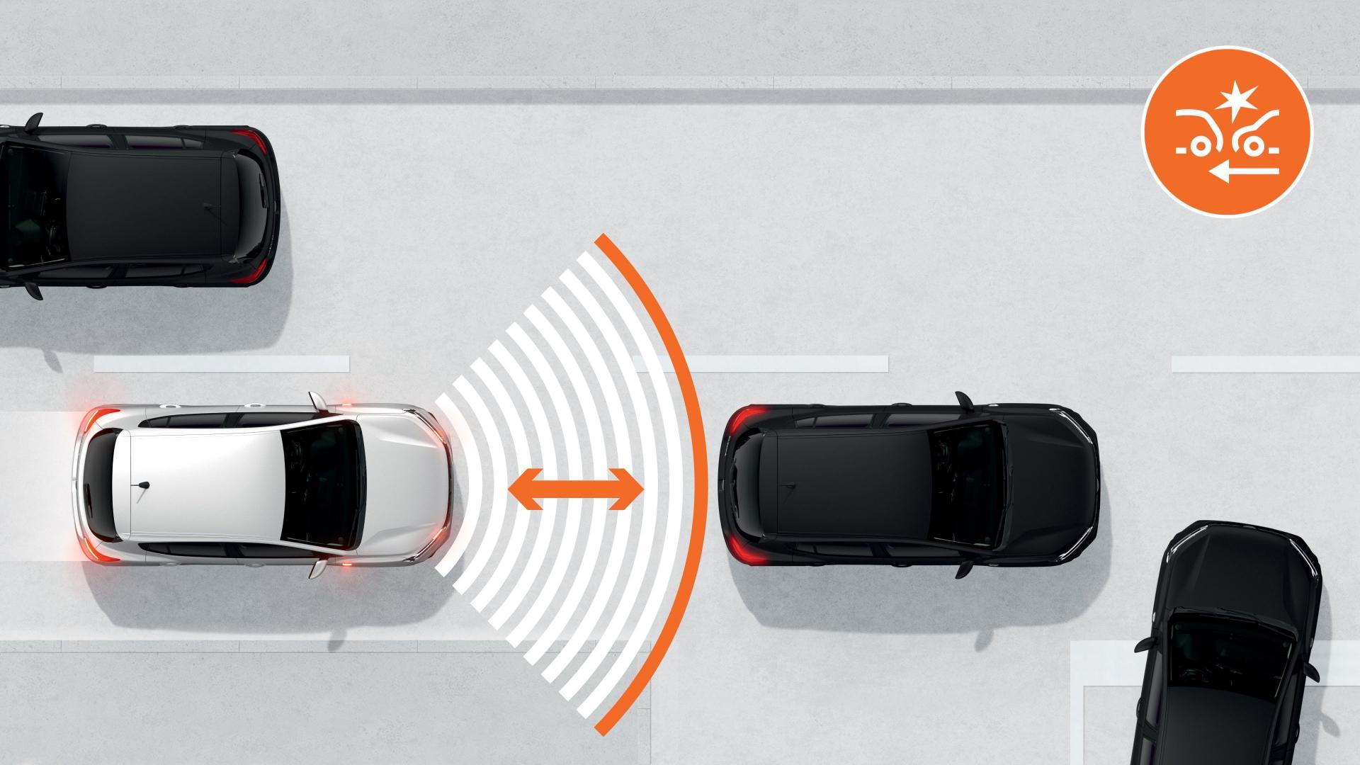 Der aktive Notfall-Bremsassistent des Dacia SANDERO Autohaus Schouren