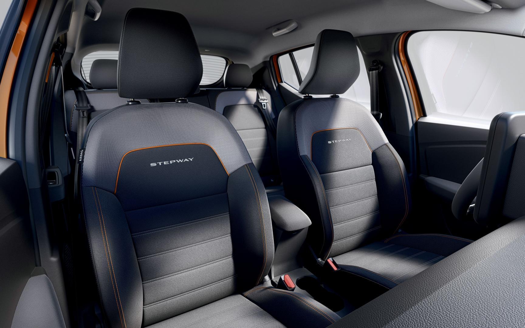 Höhenverstellbarer Fahrersitz mit Armlehne Dacia SANDERO STEPWAY Autohaus Schouren
