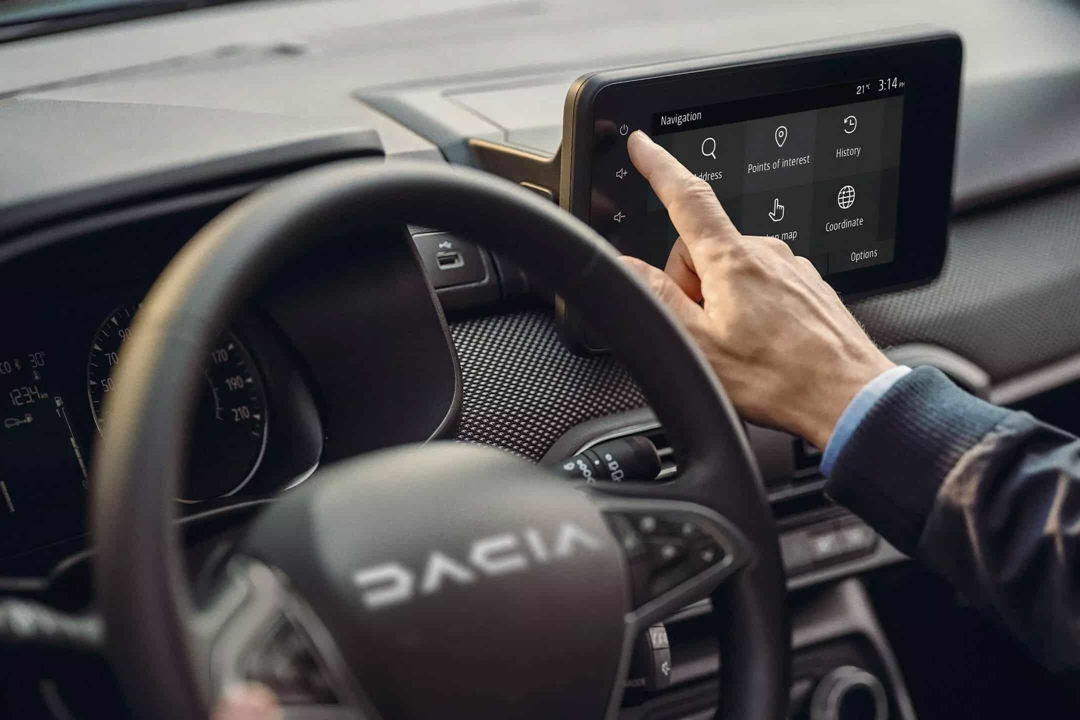 Informatives Triple Dacia SANDERO STEPWAY Autohaus Schouren