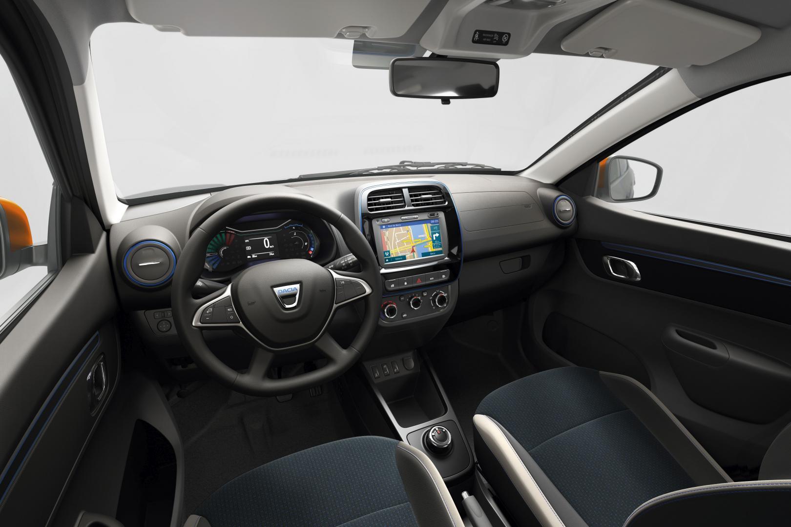 Dacia Spring Electric - Interieur Autohaus Schouren