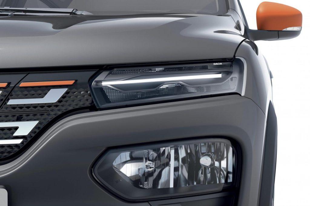 Dacia Spring Electric - Scheinwerfer Autohaus Schouren