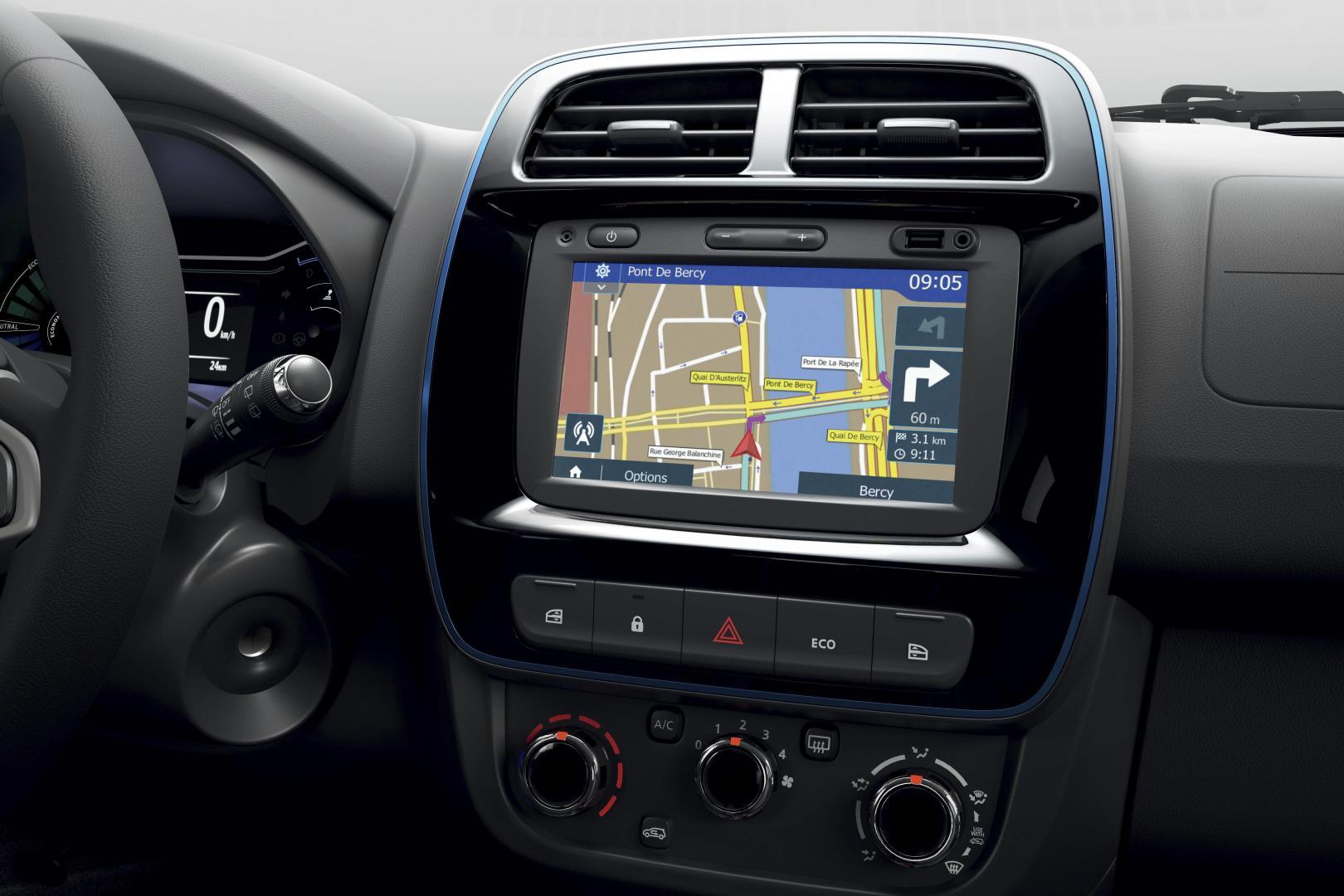 Infotainmentsystem des Dacia SPRING ELECTRIC Autohaus Schouren