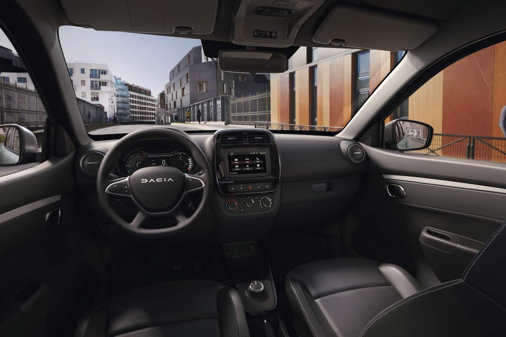 Kombiinstrument des Dacia SPRING ELECTRIC Autohaus Schouren