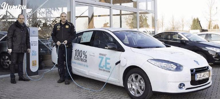 Autohaus Schouren ist Servicestützpunkt für Elektrofahrzeuge