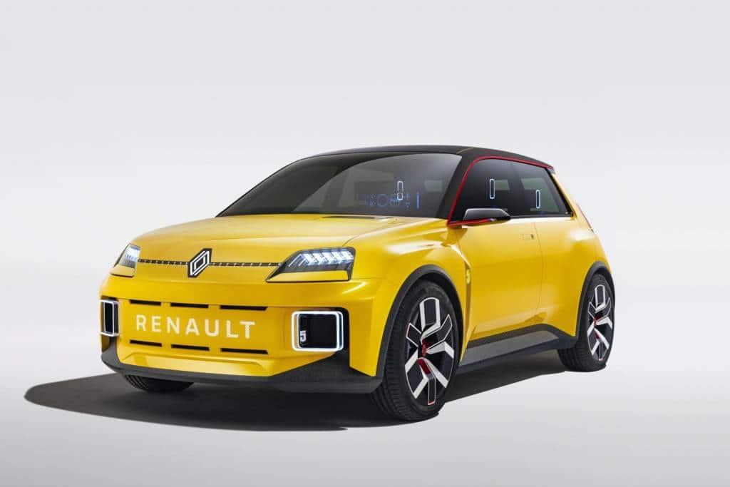 Frontansicht des Renault 5 Prototype Autohaus Schouren