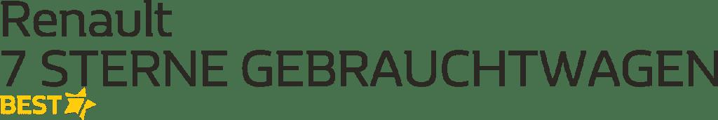Renault 7 Sterne Gebrauchtwagen BEST Autohaus Schouren