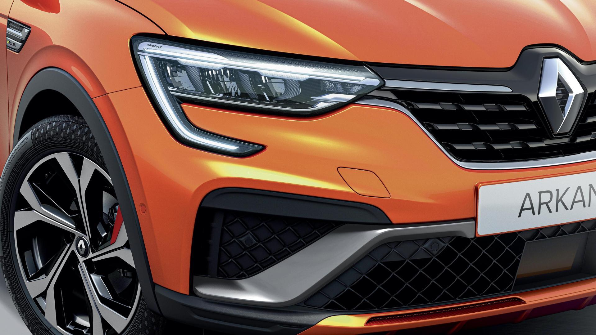 Voll-LED-Scheinwerfer beim Renault ARKANA Autohaus Schouren