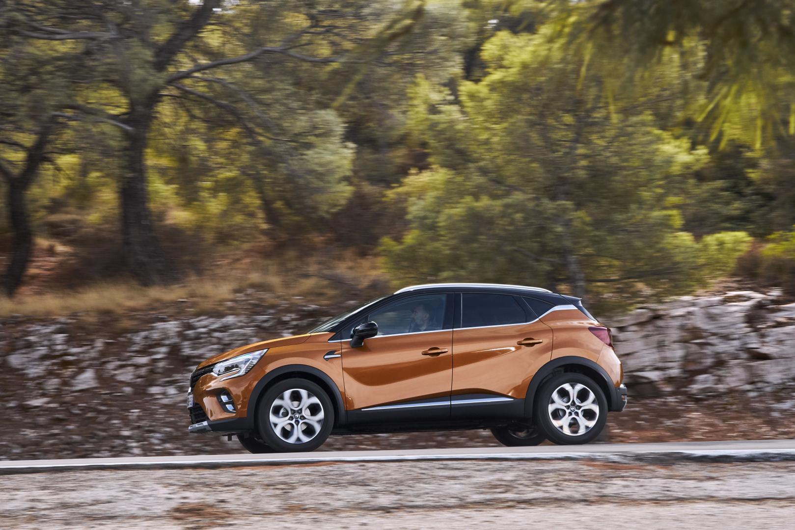 Dynamisches Profil beim Renault CAPTUR Autohaus Schouren