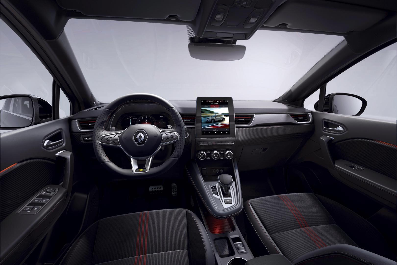 Cockpit des Renault CAPTUR E-TECH Hybrid Autohaus Schouren