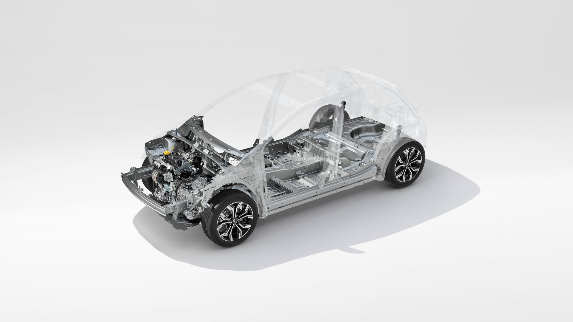 Neue CMF-B-Plattform beim Renault CLIO Autohaus Schouren