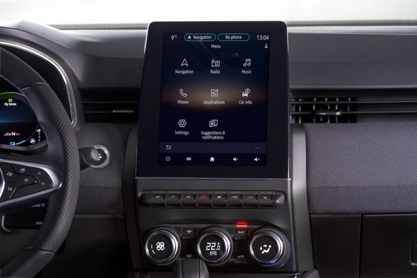 """Fahrerorientiertes """"Smart Cockpit"""" beim Renault CLIO Autohaus Schouren"""