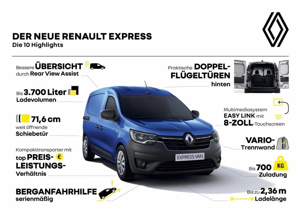 Renault EXPRESS 10 Highlights Autohaus Schouren