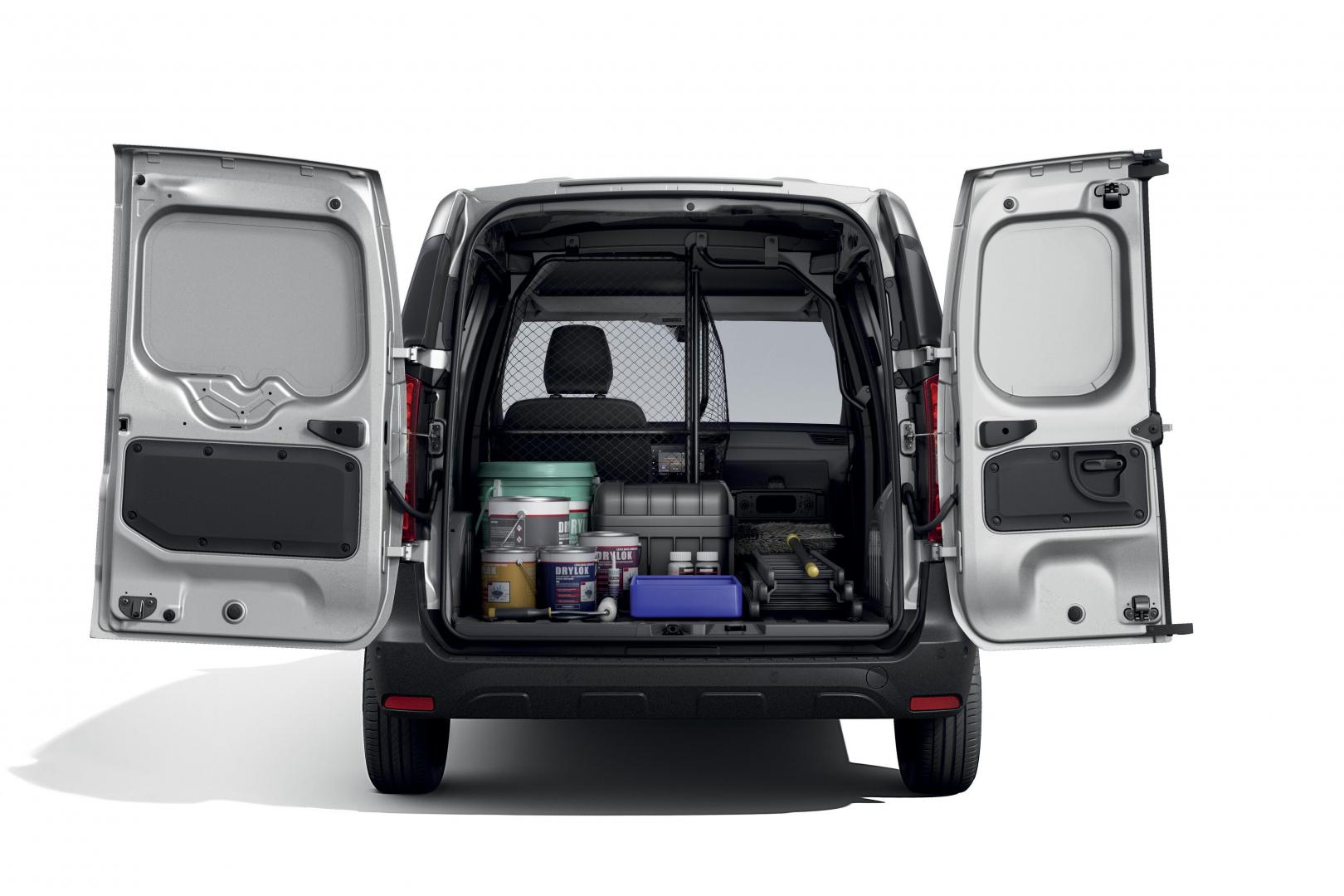 Laderaum des Renault EXPRESS Kompakttransporter Autohaus Schouren