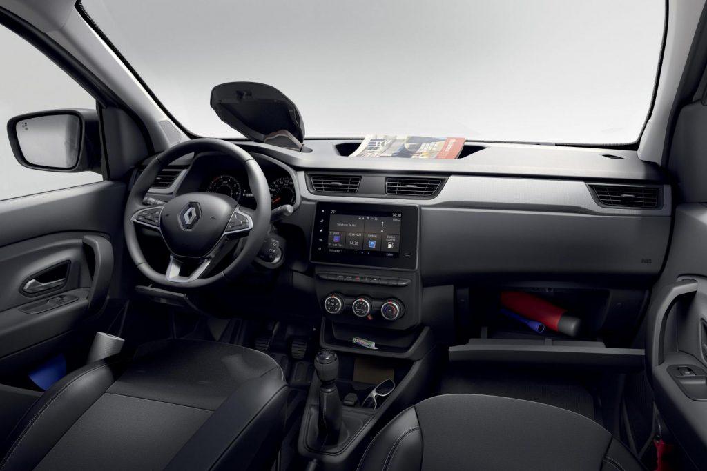 Funktional, durchdacht, komfortabel: Der Innenraum beim Renault EXPRESS Kompakttransporter Autohaus Schouren