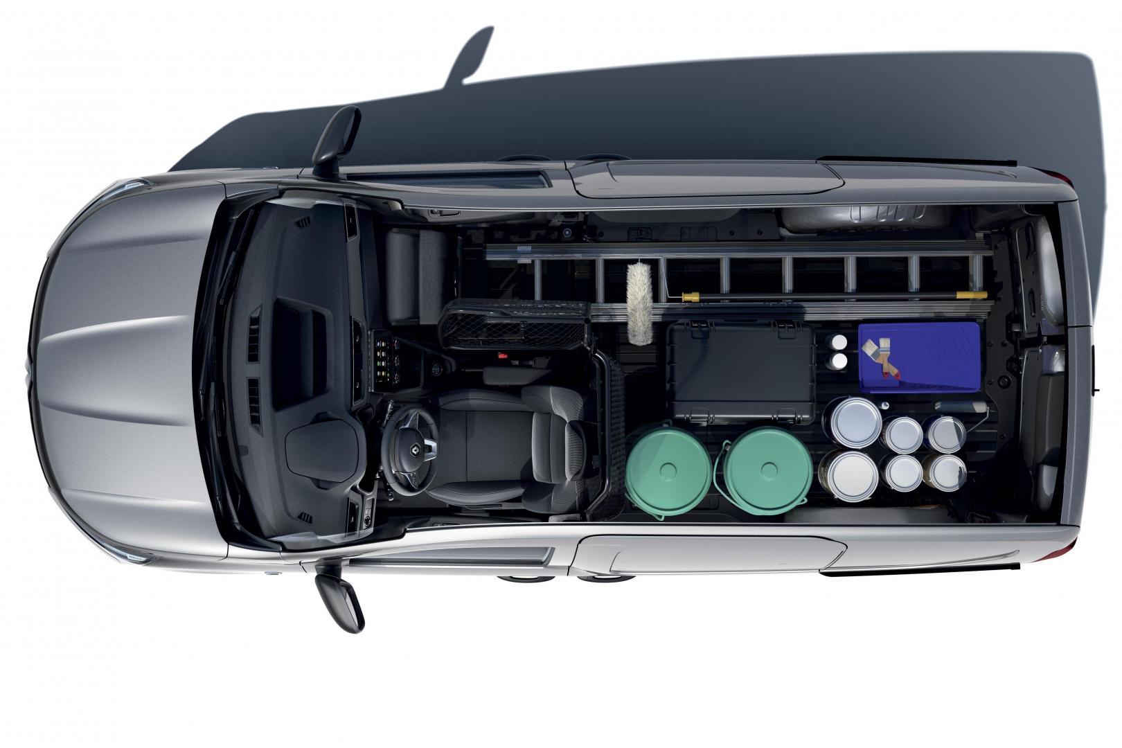 Ladefläche des Renault EXPRESS Kompakttransporter Autohaus Schouren
