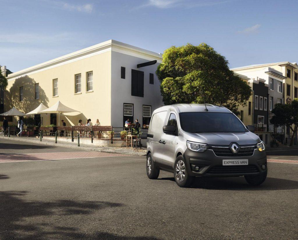 Modernes Design beim Renault EXPRESS Kompakttransporter Autohaus Schouren