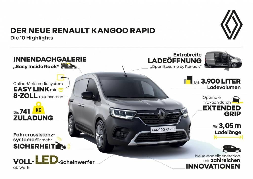 Renault KANGOO RAPID 10 Highlights Autohaus Schouren