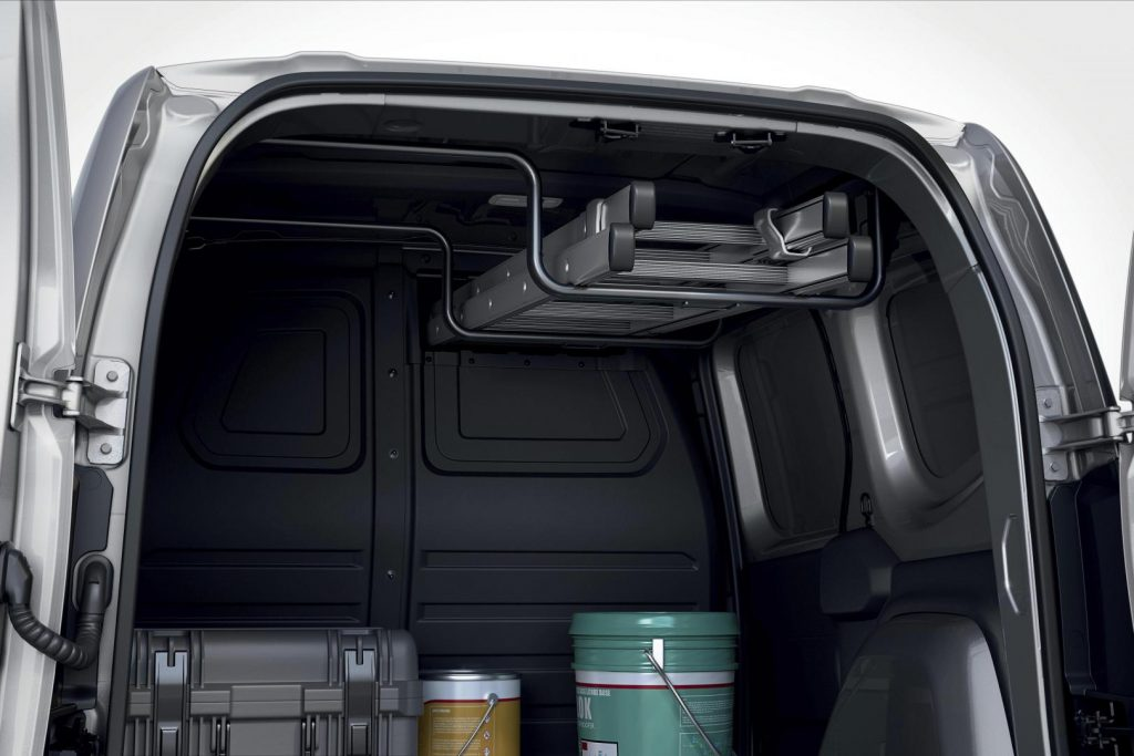 Intelligente Innengalerie Easy Inside Rack beim Renault KANGOO RAPID Kompakttransporter Autohaus Schouren