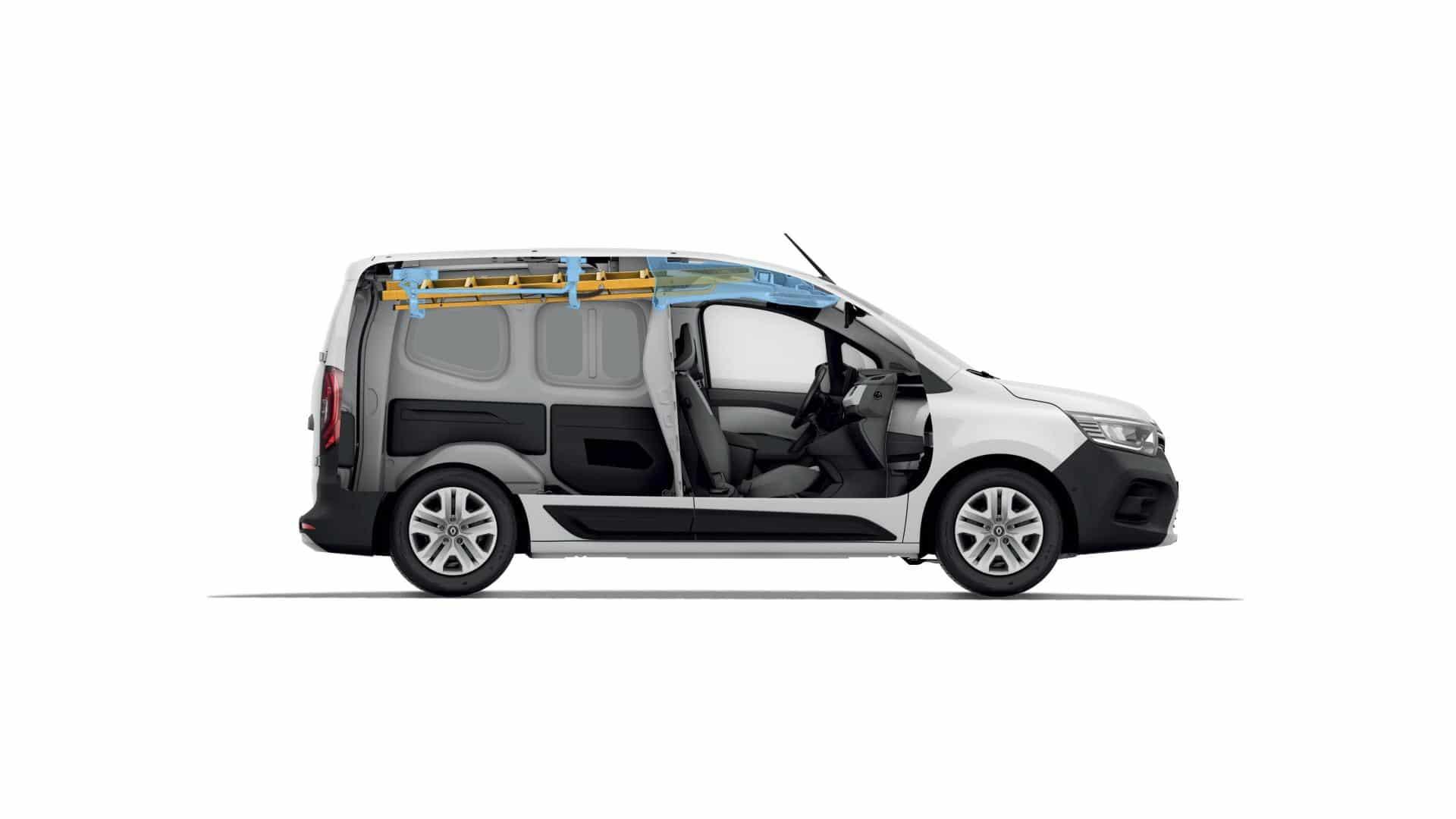 Easy Inside Rack beim Renault KANGOO Rapid Autohaus Schouren