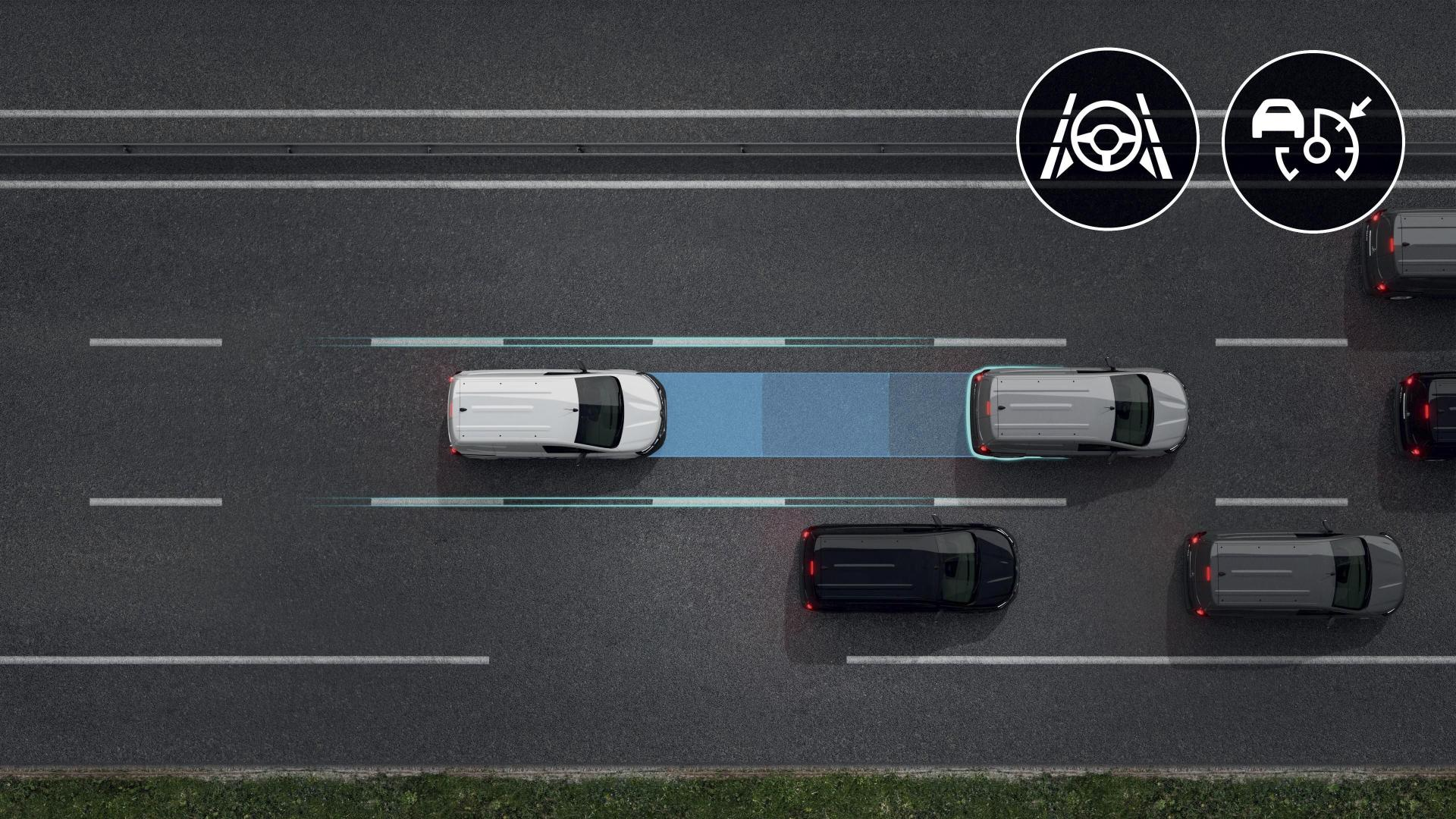 Breite Auswahl an Fahrerassistenzsystemen beim Renault KANGOO RAPID Kompakttransporter Autohaus Schouren