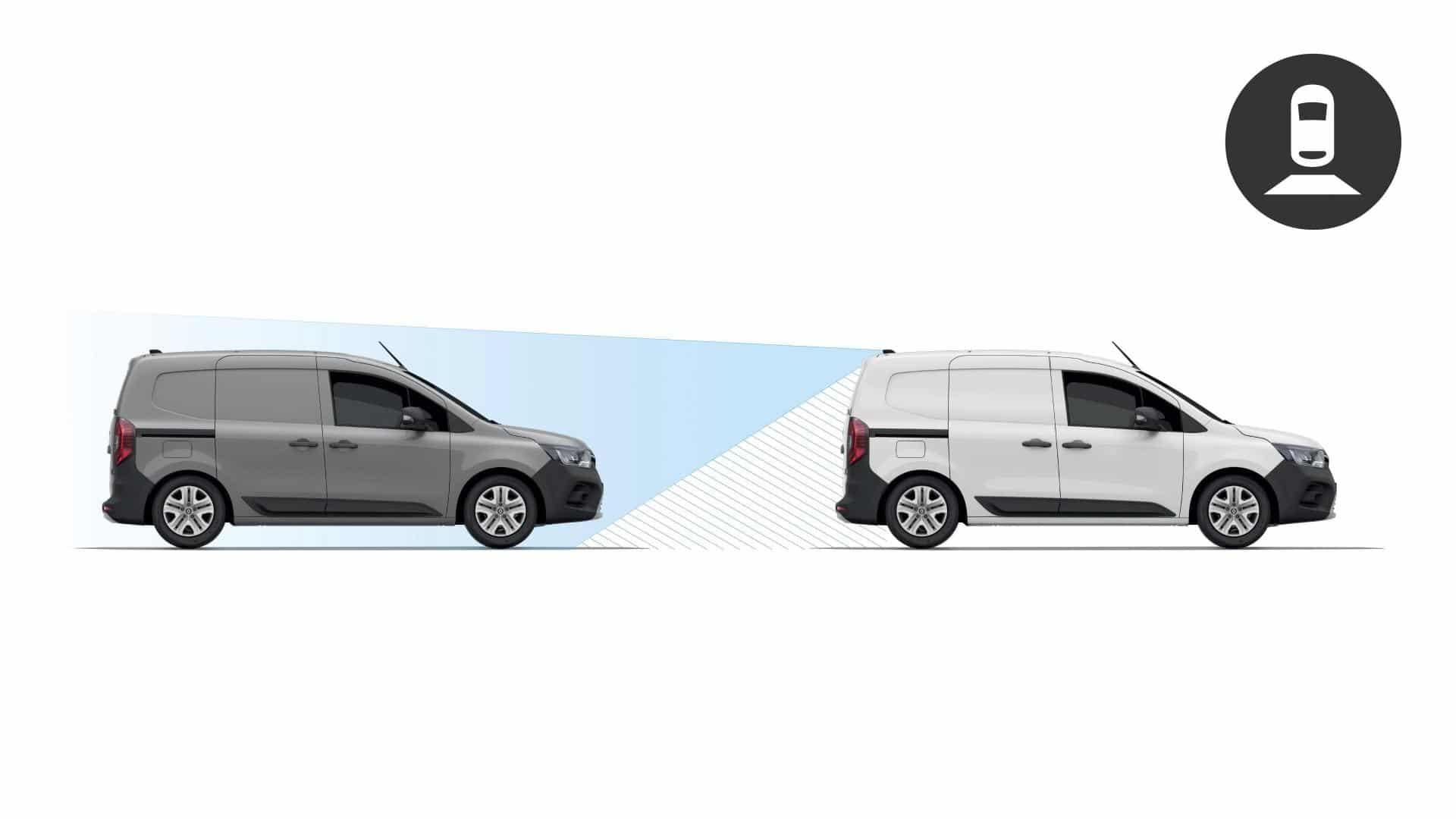 Rear View Assist beim Renault KANGOO Rapid Autohaus Schouren