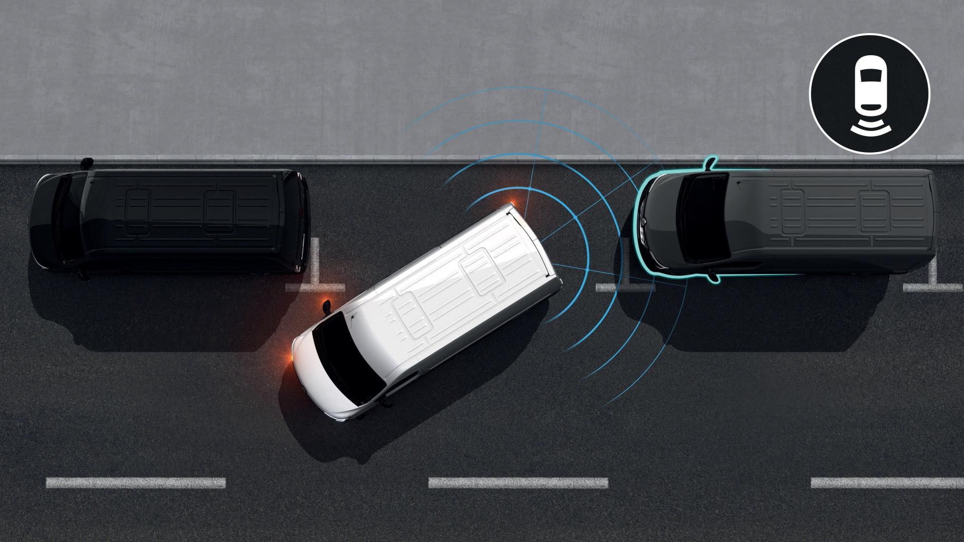 Easy Drive mit Fahrerassistenzsystemen beim Renault MASTER Kastenwagen Autohaus Schouren