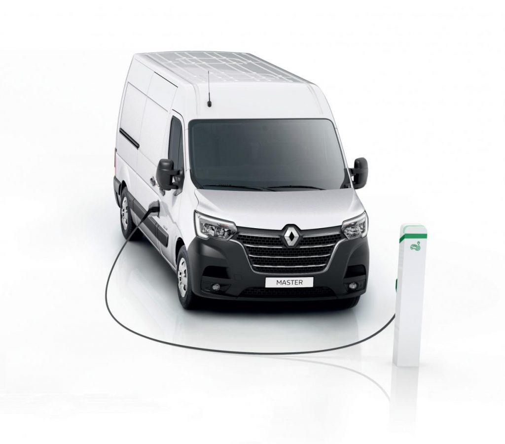 Renault MASTER Z.E. Elektrofahrzeug Kastenwagen Autohaus Schouren