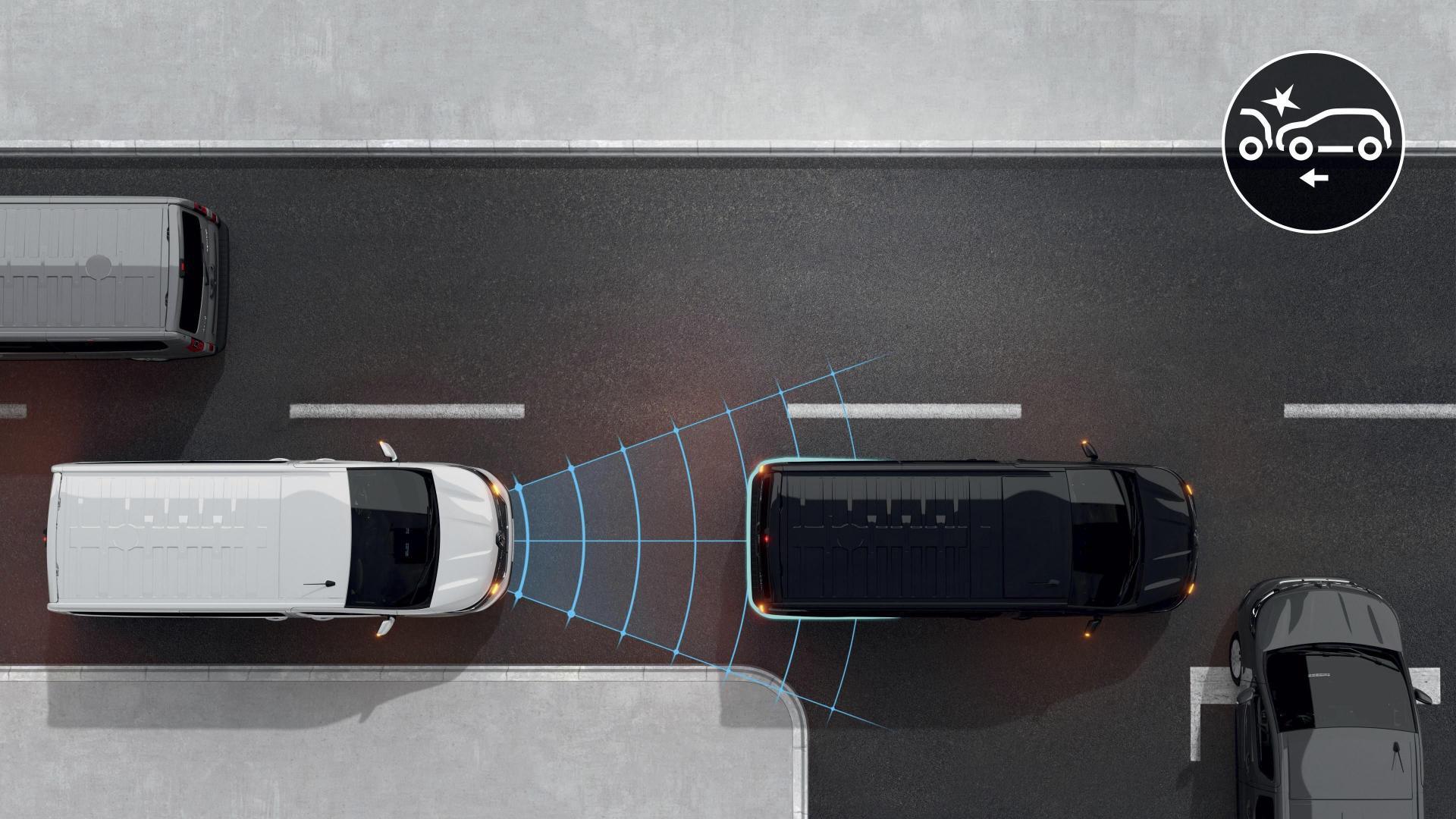 Fahrerassistenzsysteme beim Renault TRAFIC Combi SpaceClass Autohaus Schouren
