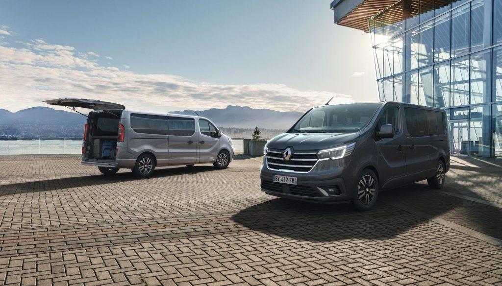 Zwei Längenvarianten und bis zu drei Sitzreihen beim Renault TRAFIC Combi SpaceClass Autohaus Schouren