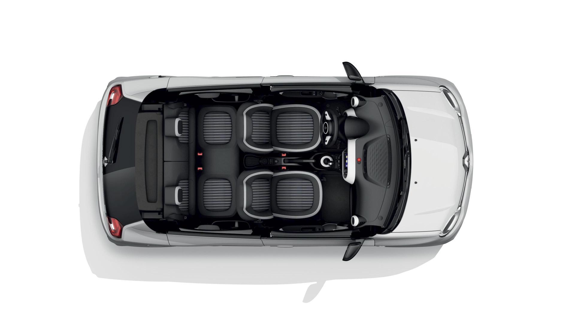 Keine Einschränkungen beim Platzangebot im Renault TWINGO ELECTRIC Autohaus Schouren