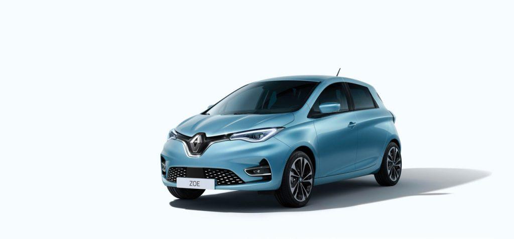 Farben des Renault ZOE Autohaus Schouren
