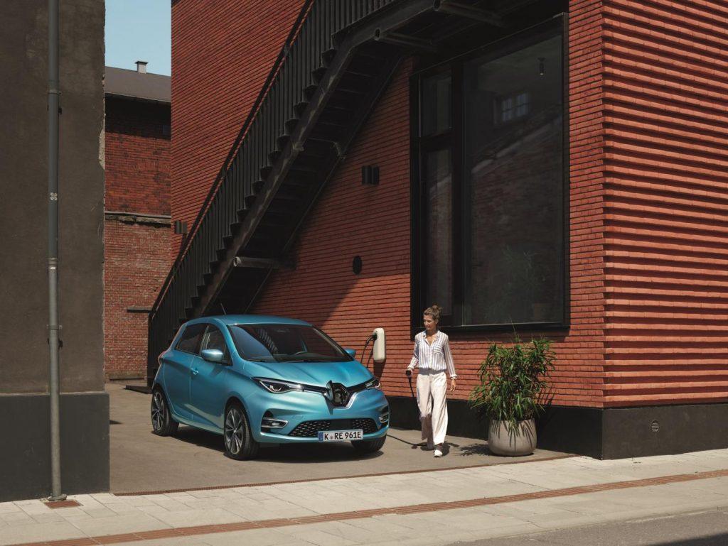 Renault ZOE bei Autohaus Schouren Brüggen