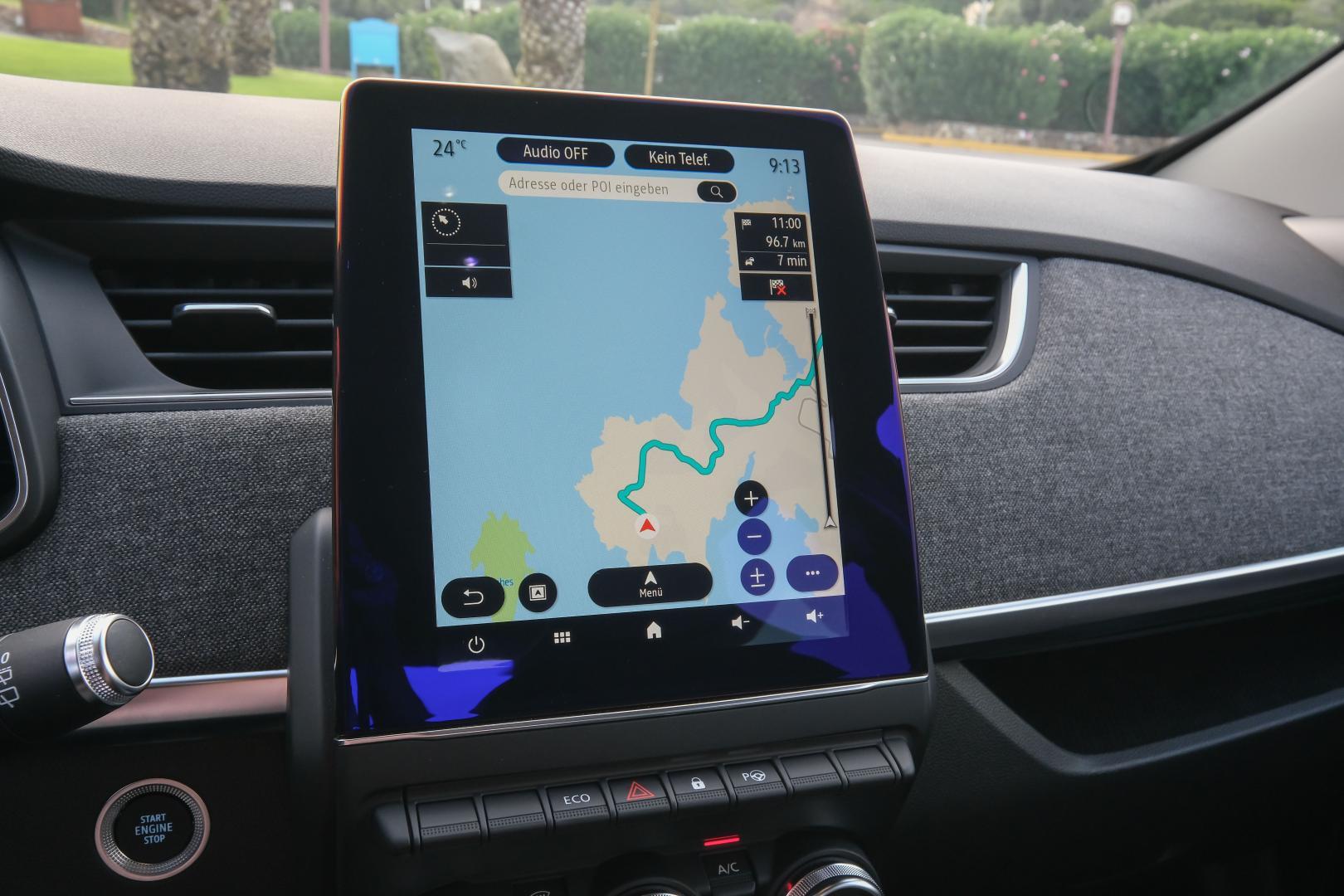Multimedia im Renault ZOE Autohaus Schouren