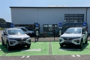 Probefahrt mit Dacia SPRING ELECTRIC bei Autohaus Schouren
